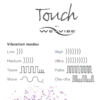 Touch by We-Vibe - Sculpted Clitoral Vibe vibration modes