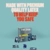 Trojan Bareskin Lubricated Latex Condoms premium quality