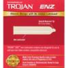 Trojan ENZ Non-Lubricated Latex Condoms back