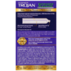 Trojan Extended Pleasure Condoms with Climax Control Lubricant back