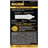 Trojan Magnum Bareskin Lubricated Condoms back