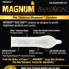 Trojan Magnum Bareskin Lubricated Condoms label