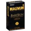 Trojan Magnum Bareskin Lubricated Condoms left
