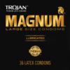 Trojan Magnum Large Size Condoms 36 Count