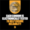 Trojan Magnum Large Size Condoms 36 Count electronically tested
