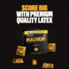 Trojan Magnum Large Size Condoms 36 Count latex