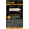 Trojan Magnum Large Size Lubricated Condoms 12 Count back