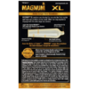 Trojan Magnum XL Lubricated Condoms back