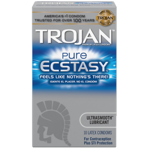 Trojan Pure Ecstasy Lubricated Condoms