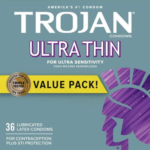 Trojan Ultra Thin Latex Condoms
