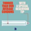 Trojan Ultra Thin Latex Condoms thinner than average