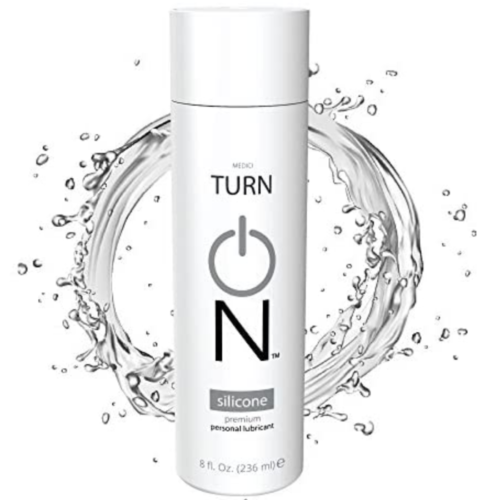 Turn On Silicone Based Personal Lubricant 8 oz