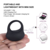 Utimi Silicone Vibrating Cock Ring lightweight