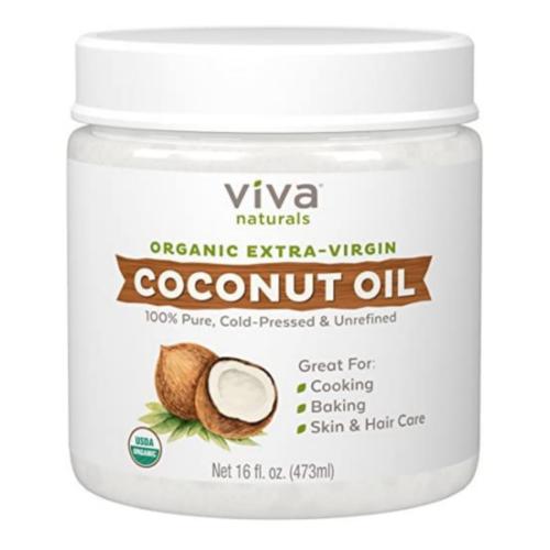 Viva Naturals Organic Extra Virgin Coconut Oil 16 Ounce
