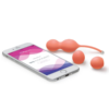 We-Vibe Bloom Vibrating Kegel Balls with phone