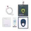 We-Vibe Pivot Vibrating Ring box contents