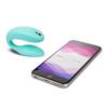 We-Vibe Sync Adjustable Couples Vibrator Aqua and phone