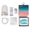 We-Vibe Sync Adjustable Couples Vibrator Aqua box contents