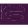 We-Vibe Sync Adjustable Couples Vibrator size