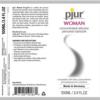pjur WOMAN Silicone Lubricant label