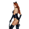 Untamed Sexy Cat Costume side